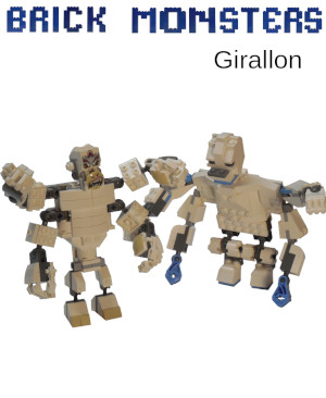 Brick Monsters: Girallon