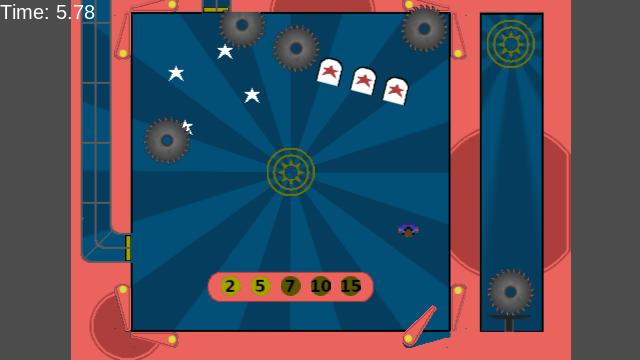 Pinball Disc Room Screenshot